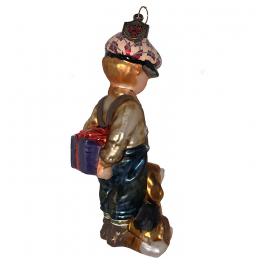 Елочная игрушка с художественной росписью «В какой руке?», Польша