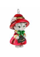 Елочная игрушка «Кошечка»