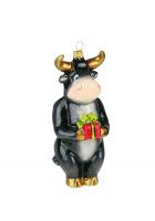 Елочная игрушка «Новогодний курьер»