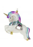 Елочная игрушка «Единорог»