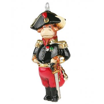 Польская елочная игрушка «Генерал», символ 2021 года