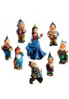 Набор елочных игрушек «Белоснежка»