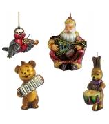Набор елочных игрушек «Лесной оркестр»
