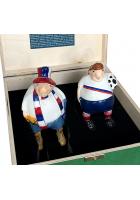 Набор елочных игрушек «Футбольные фанаты»