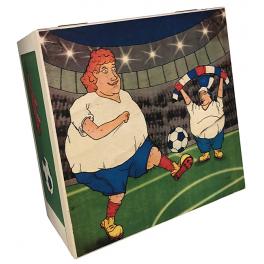 Набор елочных игрушек «Футбольные фанаты», материал стекло, 15х7 см