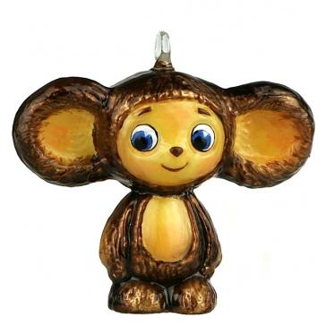 Коллекционная елочная игрушка «Чебурашка»