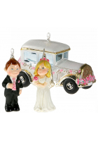 Набор елочных игрушек «Свадьба»