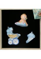 Набор елочных игрушек «Первая коллекция малыша»