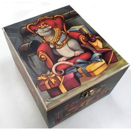 Елочная игрушка «Крыса в драгоценном жилете», Komozja и Mostowski