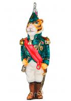 Елочная игрушка «Тигр Адмирал»