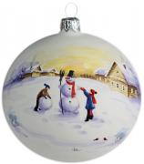 Ёлочный шар «Снеговик»