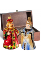 Набор ёлочных игрушек «Царский»