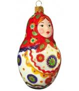 Ёлочная игрушка «Русская матрёшка»
