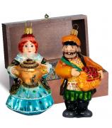 Набор ёлочных игрушек «Купеческий»