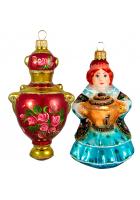 Набор ёлочных игрушек «Купеческий 2»