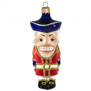 Коллекционная ёлочная игрушка «Щелкунчик»