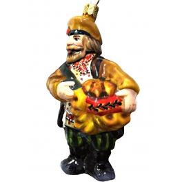 Коллекционная ёлочная игрушка «Купец»