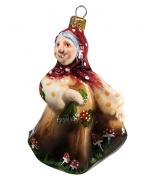 Ёлочная игрушка «Баба-Яга»