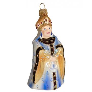 Коллекционная ёлочная игрушка «Царица»