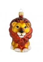 Ёлочная игрушка «Лев»