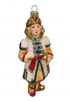 Ёлочная игрушка «Царевич в белом кафтане»