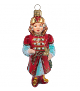 Ёлочная игрушка «Царевич в красном кафтане»