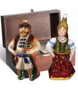 Набор ёлочных игрушек «Княжеский»