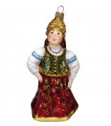 Ёлочная игрушка «Марья-царевна»