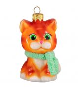 Ёлочная игрушка «Рыжий котик»