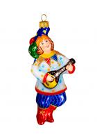 Ёлочная игрушка «Скоморох»
