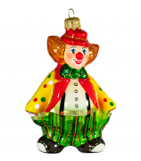 Ёлочная игрушка «Клоун Фантик»