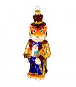 Ёлочная игрушка «Тигр волшебник»