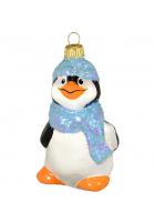 Ёлочная игрушка «Пингвин в шарфике»