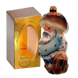 Коллекционная ёлочная игрушка «Старичок-Боровичок»