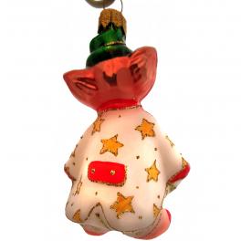 Коллекционная ёлочная игрушка «Клоун», 12,5 см