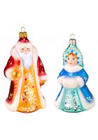 Набор ёлочных игрушек «Зимний»