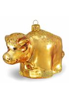 Ёлочная игрушка «Золотой теленок»
