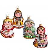 Набор ёлочных игрушек «Времена года»