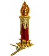 Ёлочная игрушка «Свеча»