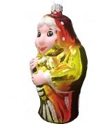 Ёлочная игрушка «Красавица Яга»