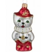 Ёлочная игрушка «Кот в сапогах»