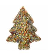 Ёлочная игрушка «Разноцветная ёлочка»