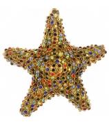 Ёлочная игрушка «Разноцветная звездочка»
