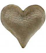Ёлочная игрушка «Сердце»