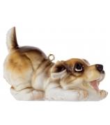 Елочная игрушка «Озорной щенок»