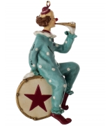Ёлочная игрушка «Клоун»