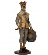 Статуэтка «Собака со шляпой»