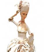 Кукла «Дама с зеркалом», авт. Т.Устинкина