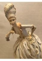 Кукла «Дама с моноклем», авт. Т.Устинкина
