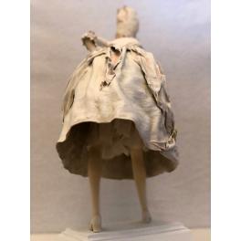 Коллекционная авторская кукла «Дама с моноклем». Мастер Татьяна Устинкина